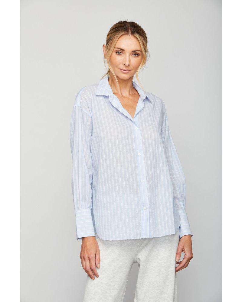 Sundays Kiri Shirt Sky Blue Stripe F20