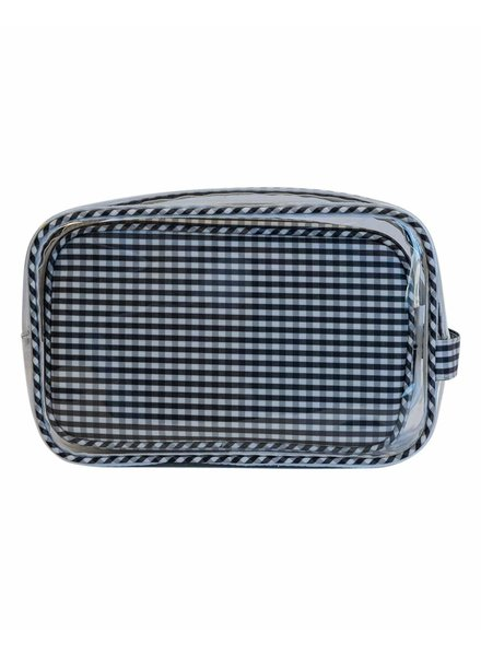 TRVL Clear Duo Gingham Black