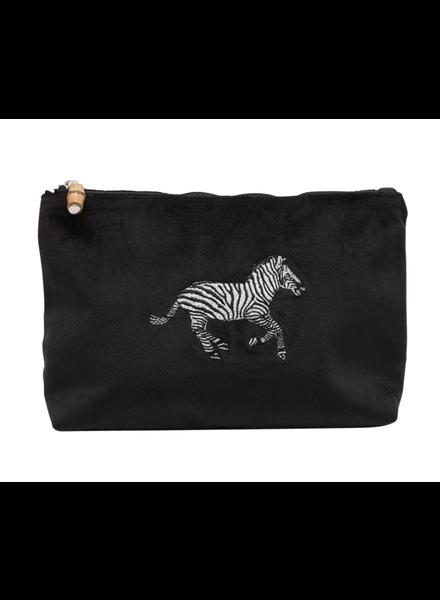 TRVL Zebra Voyage Clutch