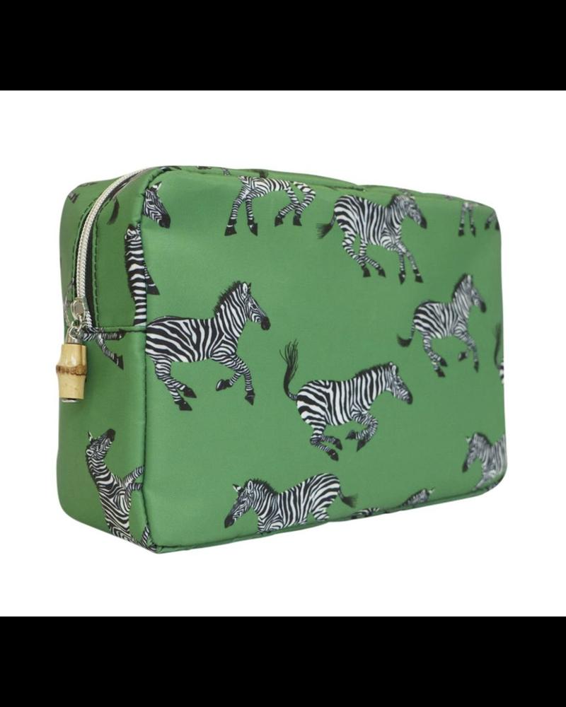 TRVL Big Glam Green Zebra
