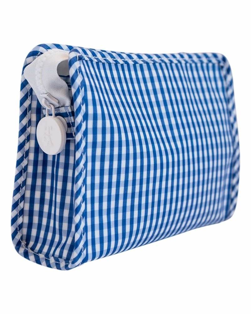 TRVL Roadie Large Gingham  Royal
