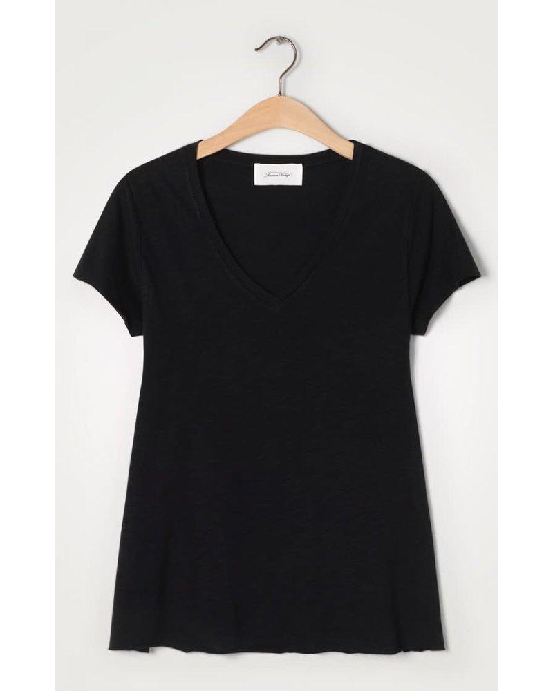 American Vintage Jacksonville T-Shirt JAC51H20 Noir F20