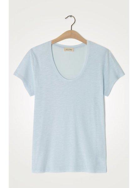 American Vintage Jacksonville T-Shirt JAC48H20 Bleu Dragee F20