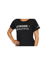 Strong + Beautiful Strong + Beautiful Tee Black