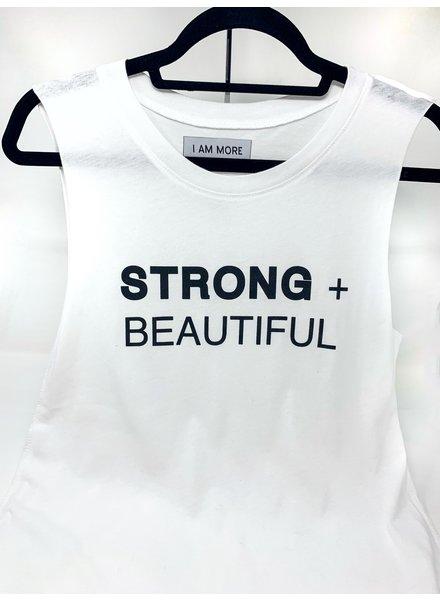 Strong + Beautiful Strong + Beautiful Muscle White