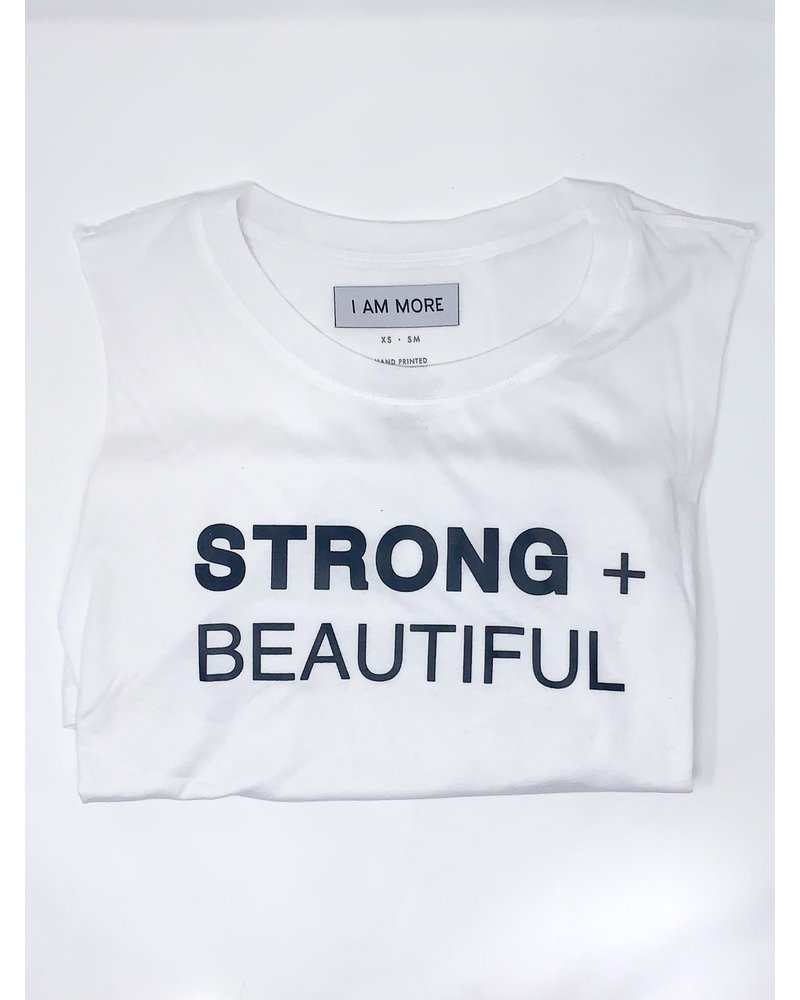 Strong + Beautiful Strong + Beautiful Muscle White