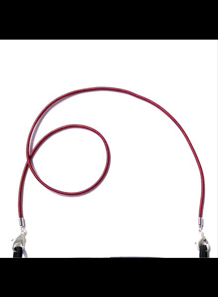 La Loop Burgundy Stretch Cord