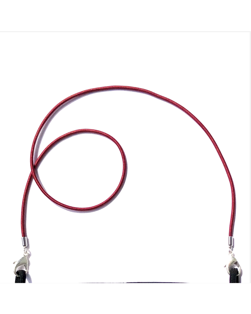 La Loop Burgundy Stretch Cord