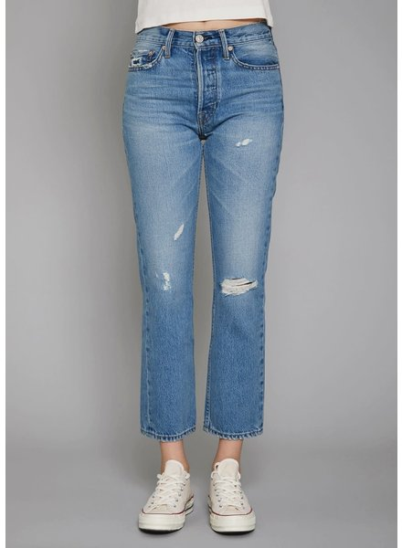 Noend Denim Claude High Rise Straight Crop Retro F20