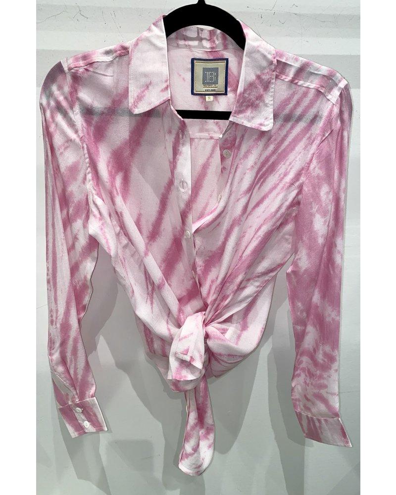 Bell Basic Shirt R21-12 Pink Tie Dye R21