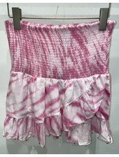 Bell Lynn Skirt R21-12 Pink Tie Dye R21