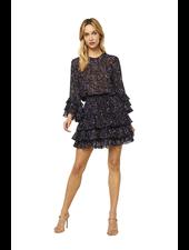 Misa Bernita Dress Midnight Floral F20