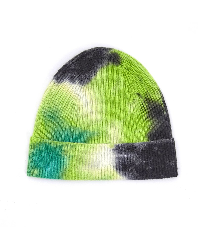 Brodie Dillan Tie Dye Hat Organic White, Green and Black H20