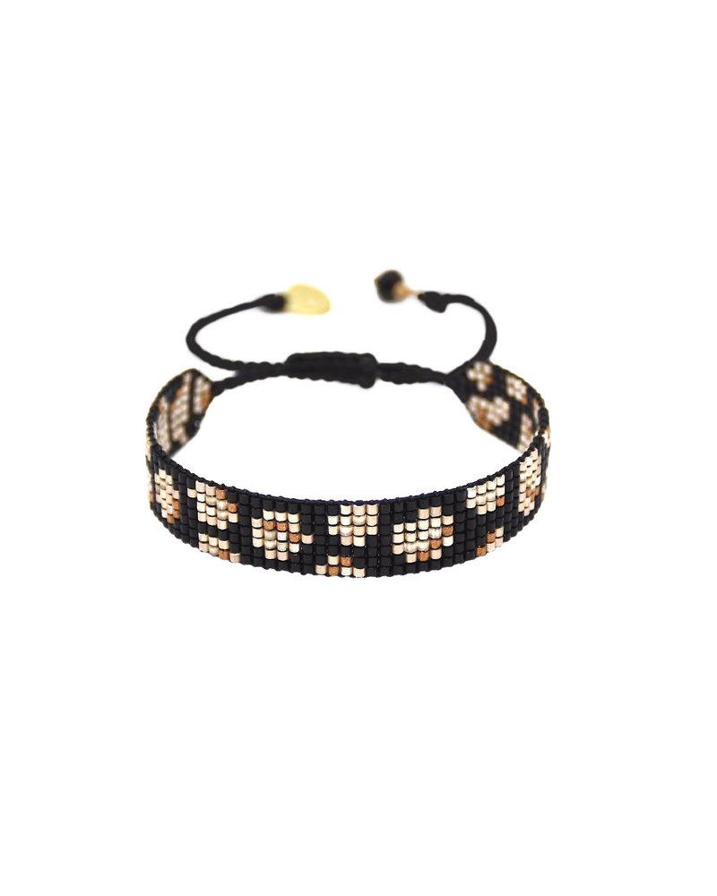 Mishky Panthera-BE-S-8989 Black Copper Beige Mat