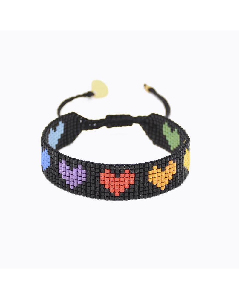 Mishky Rainbow Hearts B-BE-S-9338 Multi