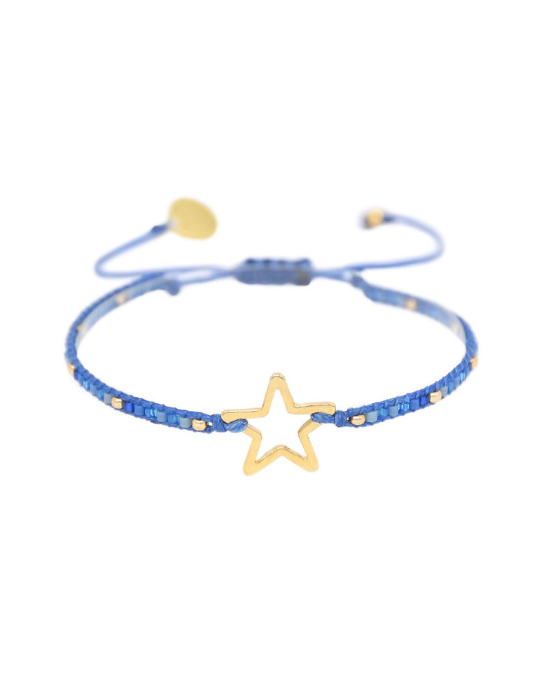 Mishky Melted Star 2.0-GP-XS-9295 Blue Gold Turquoise