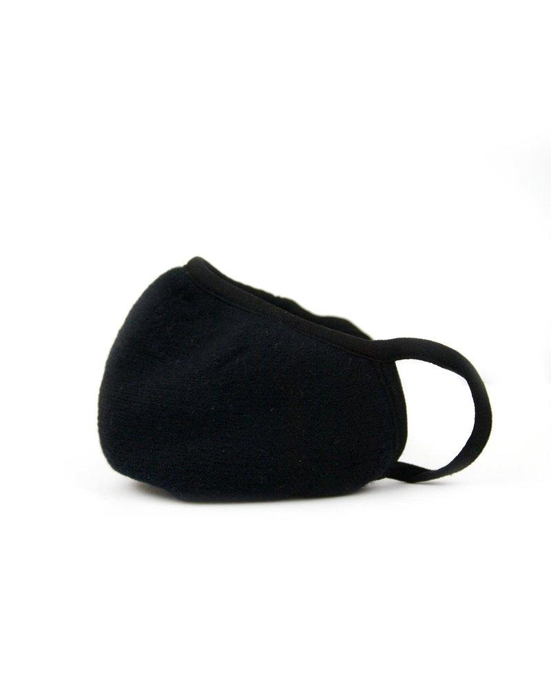 Marlyn Schiff Adult Knit Mask Black