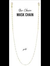 Marlyn Schiff Star Chain Mask Chain 1691N Gold