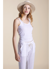 Sunday St Tropez Sioux Tank Top White R21