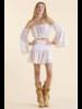 Sunday St Tropez Pomponette VI Pepite Skirt Blanc R21