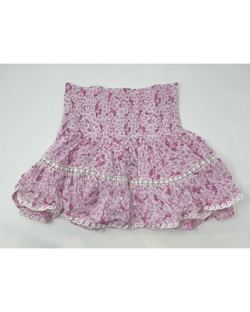 Sunday St Tropez Pomponette IND Skirt Orchidee R21