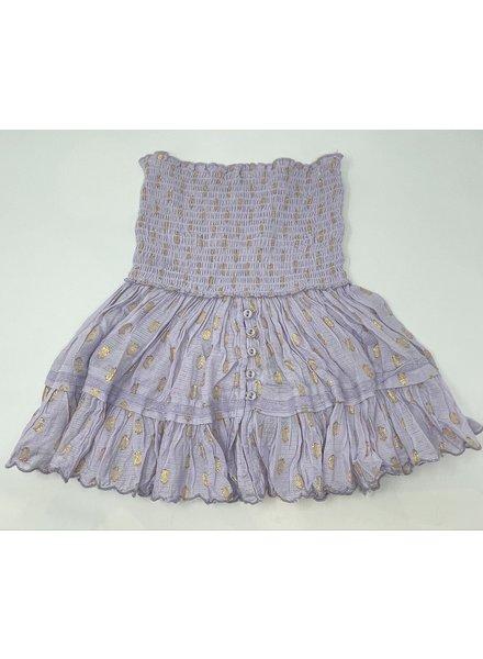 Sunday St Tropez Pomponette VI Pepite Skirt Lila R21