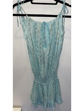 Sunday St Tropez Creasy VI Pepite Dress Turquoise R21