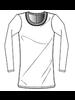 Monrow Superfine Jersey L/S Crew White H20