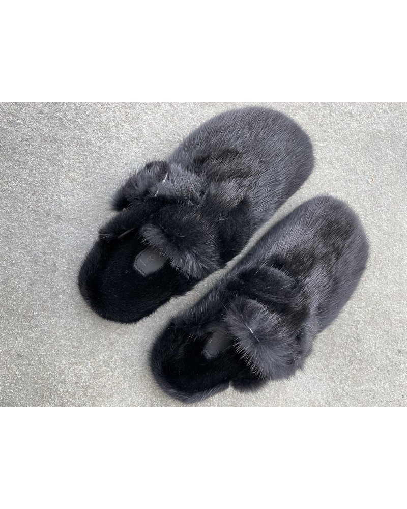 Linda Richards Clog Style Mink Black MKS-03 H20