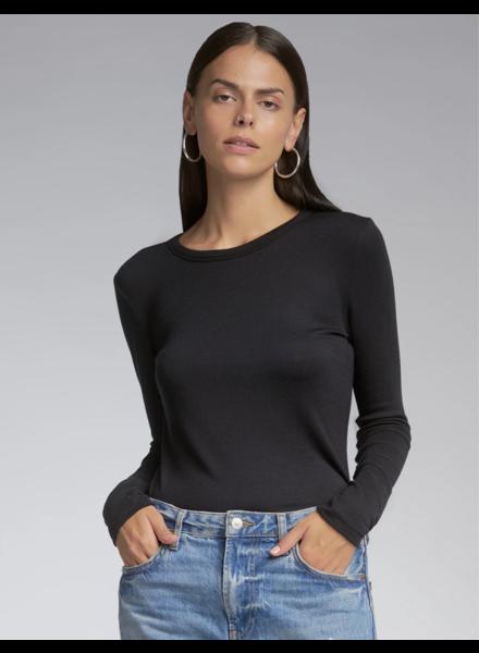 SEN Woolmer Long Sleeve Pullover Black S21