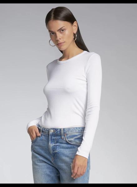SEN Woolmer Long Sleeve Pullover White S21