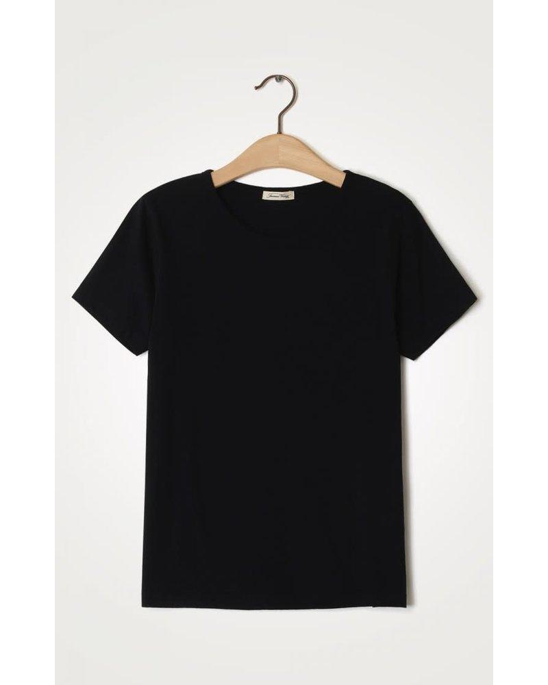 American Vintage Fakobay T-Shirt FAK02AE21 Noir Vintage