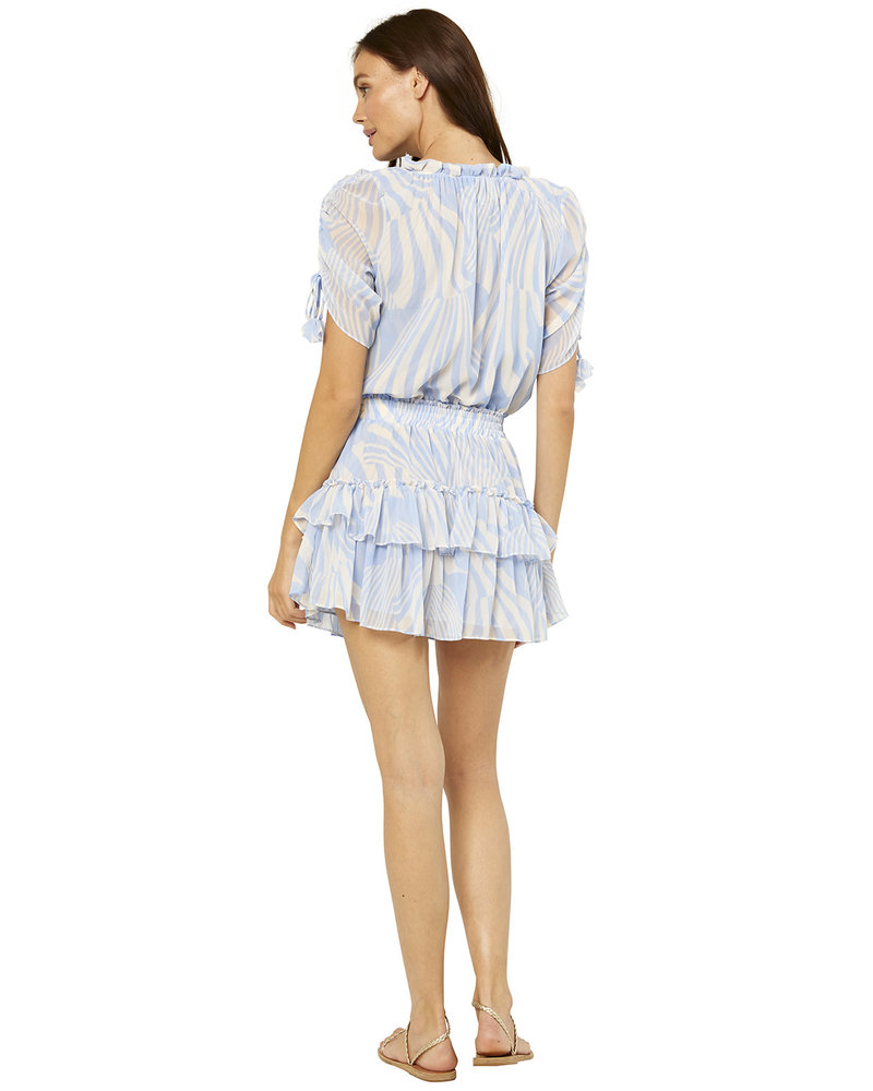 Misa Becca Dress Casablanca Blu Shell S21
