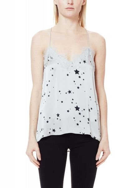 CAMI NYC The Racer Charmeuse Platinum Star F18