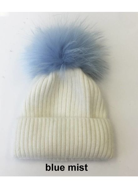 Linda Richards HA 62W Pom Pom Hat