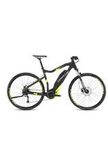 """HaiBike 2017 Haibike SDuro Cross High-Step 4.0 28""""/700 Electric MTB Hybrid Bike Black/Yellow 64cm/XXL *ON SALE*"""