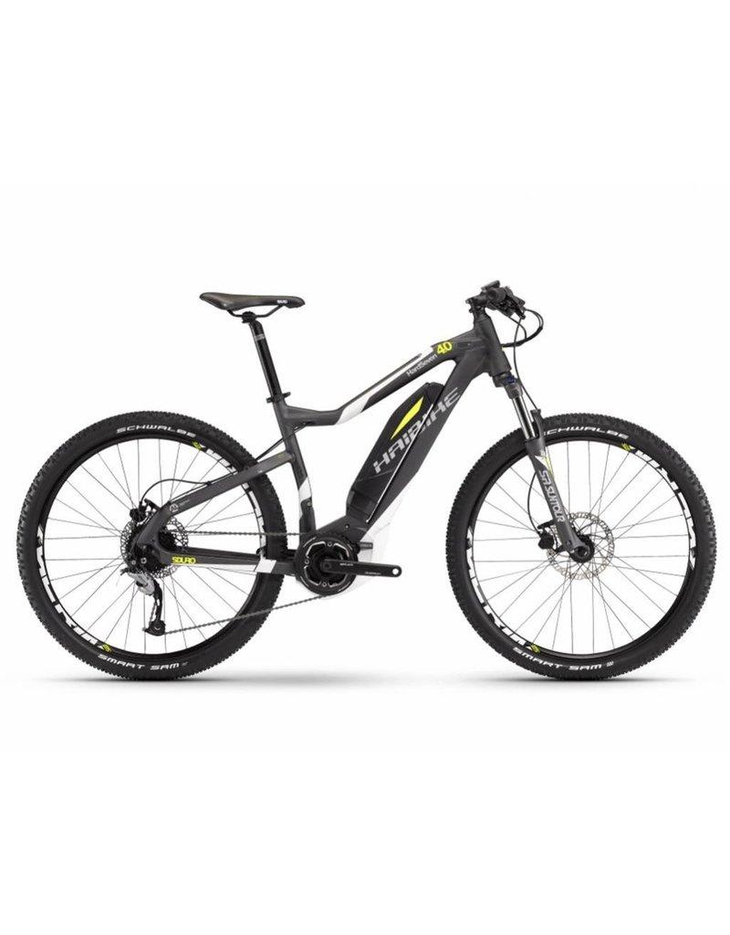 HaiBike 2017 Haibike SDuro HardSeven 4.0 27.5 Electric HT MTB Bike Grey 35cm/XS *ON SALE*