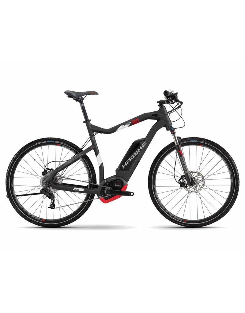 """HaiBike 2017 Haibike XDuro Cross High-Step 3.0 28""""/700 Electric MTB Hybrid Bike Grey 64cm/XXL *ON SALE*"""