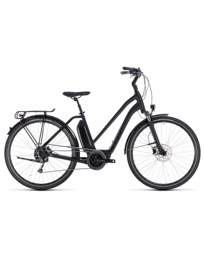 Cube 2018 Cube Town Sport Hybrid 500 Electric Comfort Hybrid Bike Step-Thru Trapeze *ON SALE*
