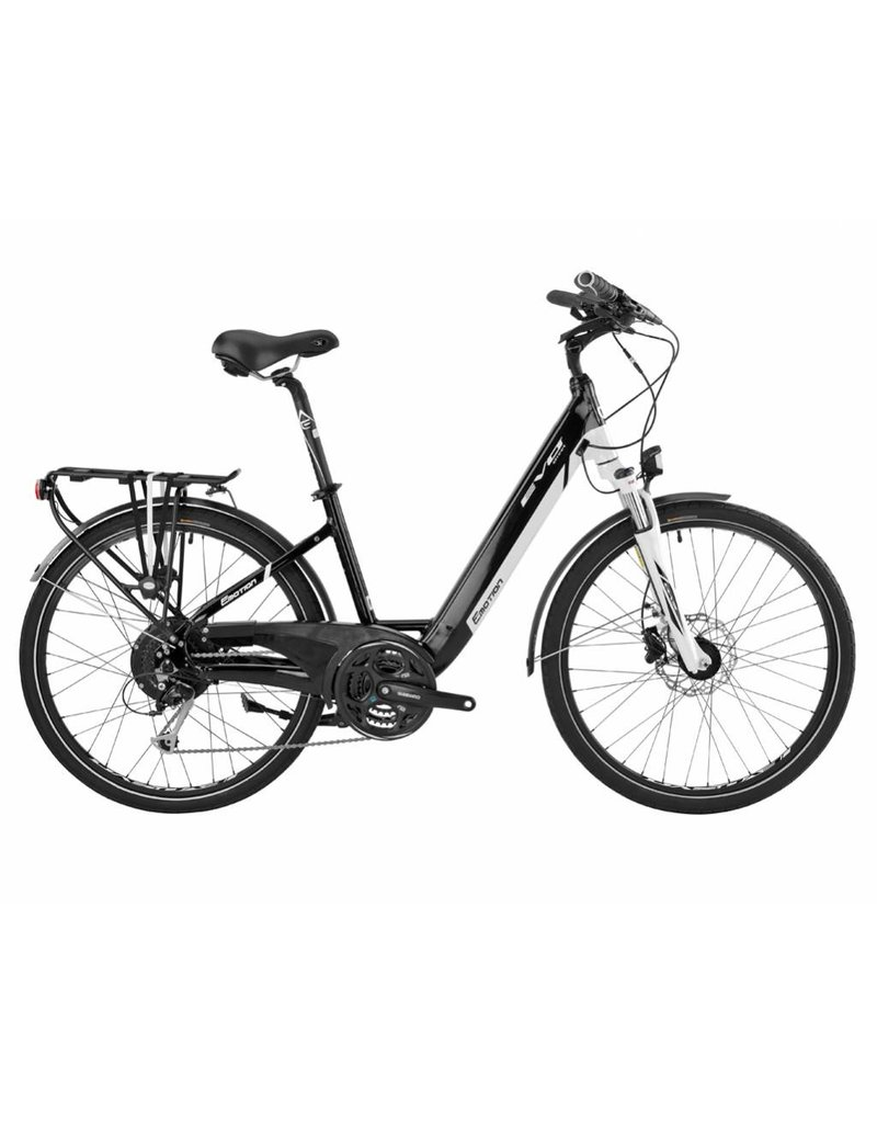 "Easy Motion Easy Motion EVO Street PRO 26"" Electric Step-Thru Bike WHITE/Black MD *ON SALE*"