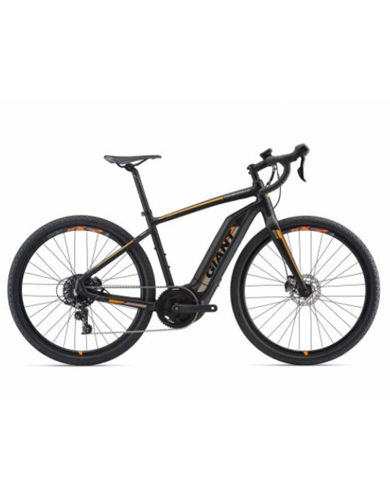 Giant 2018 Giant ToughRoad E+ GX Matte Black Electric Road Gravel Adventure Bike SML *ON SALE*