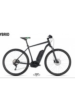 Cube 2018 Cube Cross Hybrid Pro 500 Electric MTB Hybrid Bike Grey/Flash Green 58 XL *ON SALE*