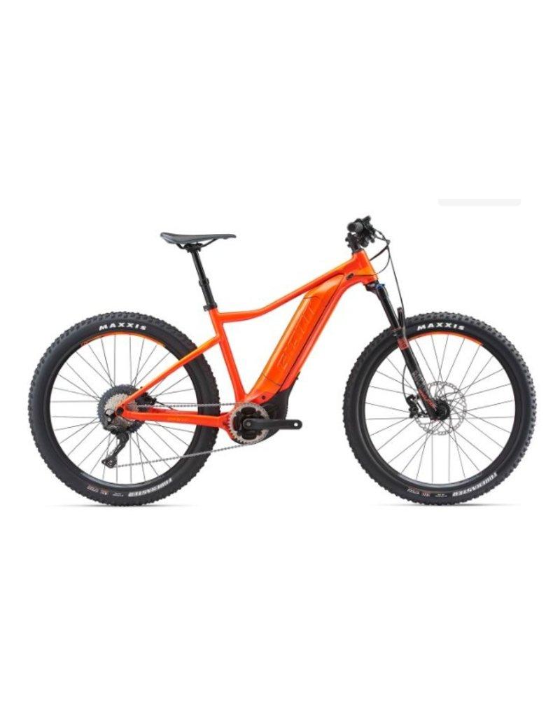 Giant 2018 Giant Dirt E+ 1 Pro 27.5 Electric HT MTB Bike Neon Red/Orange LRG *ON SALE*