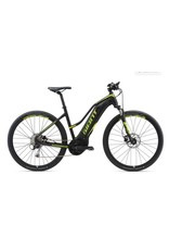 Giant 2018 Giant Explore E+ 3 Staggered Lo-Step Electric MTB Hybrid Bike Black/Lime LRG *ON SALE*