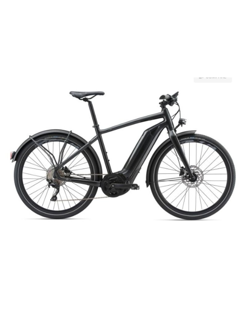 Giant 2018 Giant Quick E+ Metallic Anthracite Electric Road Hybrid Bike LRG *ON SALE*