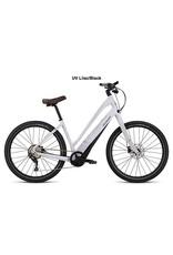 2019 Specialized COMO 3.0 650B Step-Thru Electric Comfort Hybrid Bike UV Lilac SML