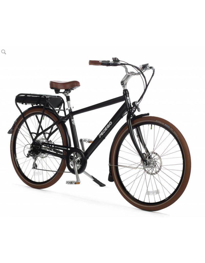 "Pedego 2018 Pedego Classic City Commuter 26"" 48Volt 10Ah - BLACK Electric Hybrid Bike"
