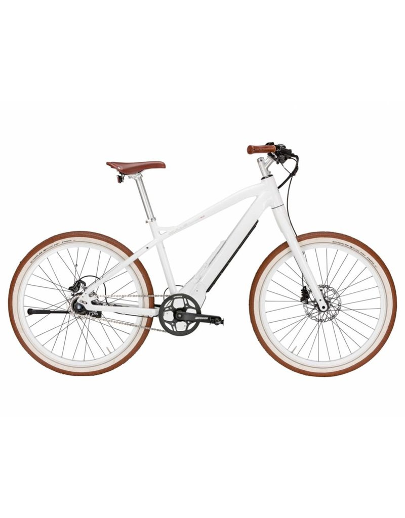 Bulls 2018 Bulls Sturmvogel 26 Shiny White 46cm Electric City Bike