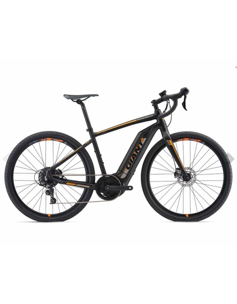Giant 2018 Giant ToughRoad E+ GX Matte Black Electric Road Gravel Adventure Bike LRG *ON SALE*