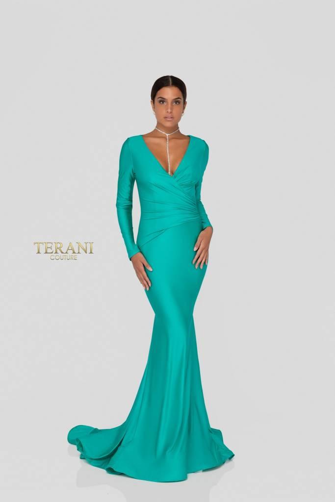 Terani Turquoise Dress